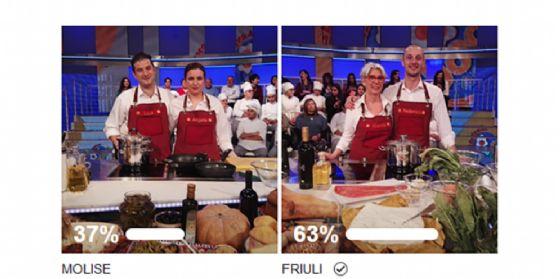 """Lo chef di Fiume Veneto vince a """"La prova del cuoco"""" (© Rai)"""