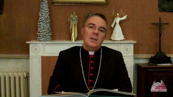 Il vescovo Sacchi (© Diocesi Casale)
