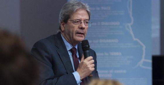 Paolo Gentiloni al Sermig di Torino
