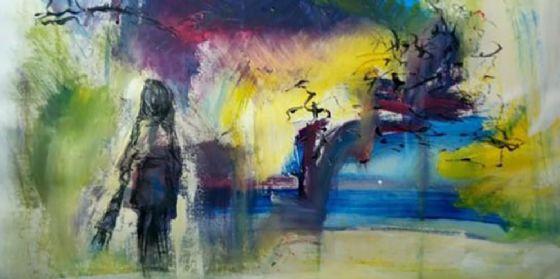 A Pordenone la mostra delle opere su carta di Adriana Rigonat