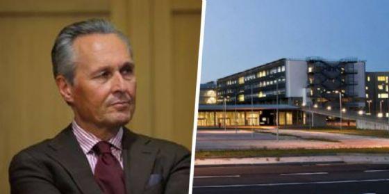 Franco Ferraris ed il nuovo ospedale