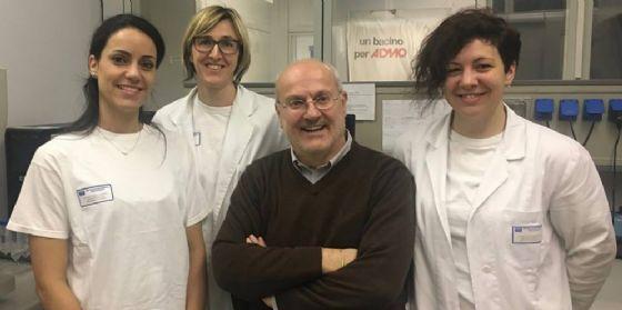 Il gruppo di ricercatori coordinato da Antonella Zucchetto e Valter Gattei del Cro e Tanja Nicole Hartmann dell'Università di Salisburgo (© Istituto Nazionale Tumori Irccs Cro Aviano)