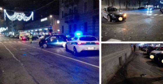 Incidente in corso De Gasperi (© Sanna)