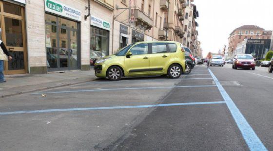 Sosta a pagamento a Torino (© ANSA)