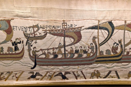 Tapestry Diplomacy: French leader Emmanuel Macron is expected to confirm that the famous Bayeux Tapestry, which dates from around 1077, can go on loan to Britain