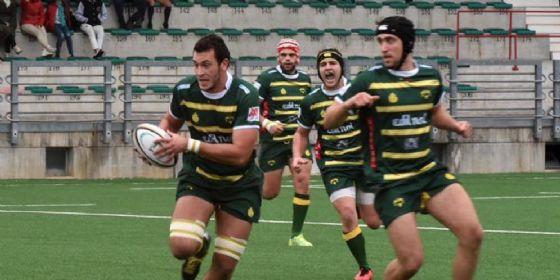 Il giocatore in azione con la palla