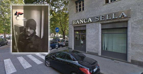 Rapinata Banca Sella in corso Francia 199