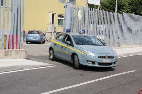 Auto della Guardia di finanza biellese (© Diario di Biella)