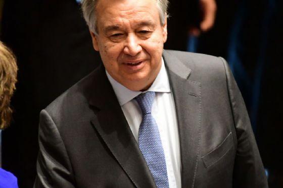 Il segretario generale ONU Antonio Guterres