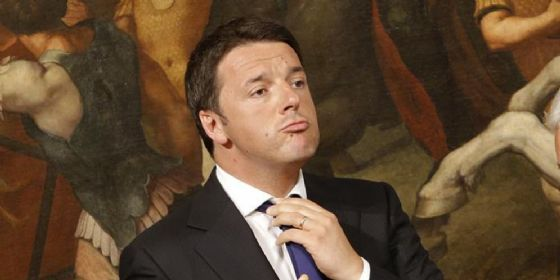 Il Segretario del Partito Democratico, Matteo Renzi