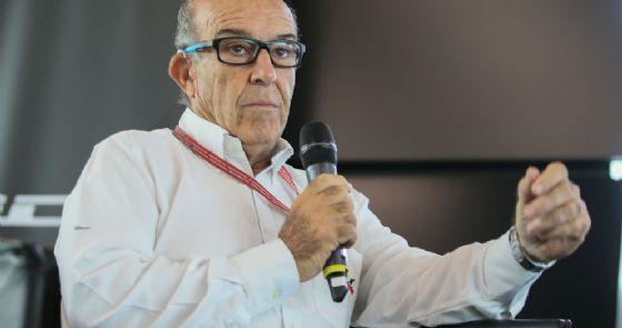 Il patron della Dorna, organizzatrice della MotoGP, Carmelo Ezpeleta