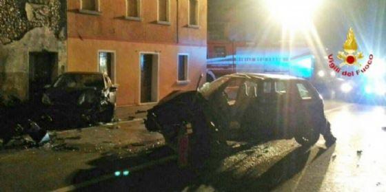 Gravissimo incidente nel trevigiano: ferito un 28enne friulano (© V.F.)