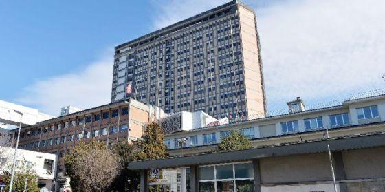 Una veduta esterna dell'ospedale CTO di Torino