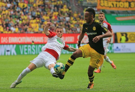 Pierre Emerick Aubameyang, attaccante del Borussia Dortmund