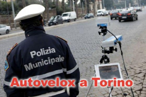 Autovelox a Torino dal 22 al 27 gennaio 2018