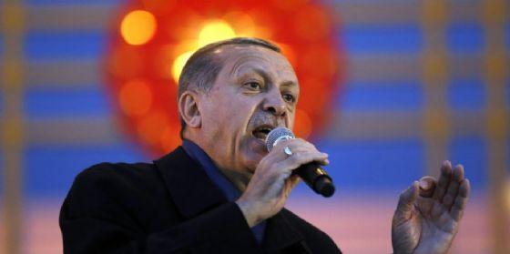 Il presidente turco Tayyp Recep Erdogan