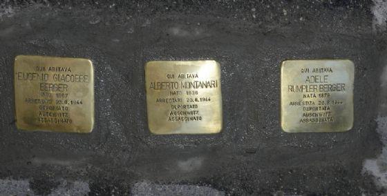 Memoria: al via l'installazione delle prime pietre d'inciampo