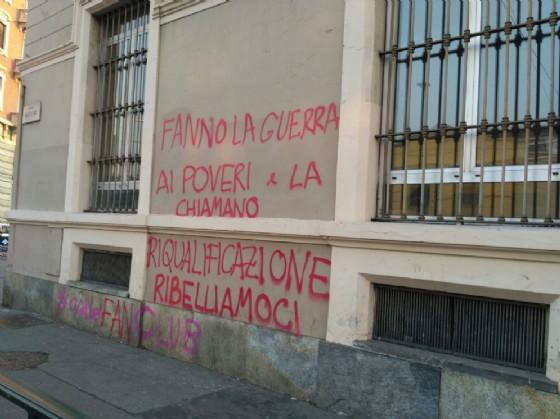 Scritte sui muri di Borgo Aurora