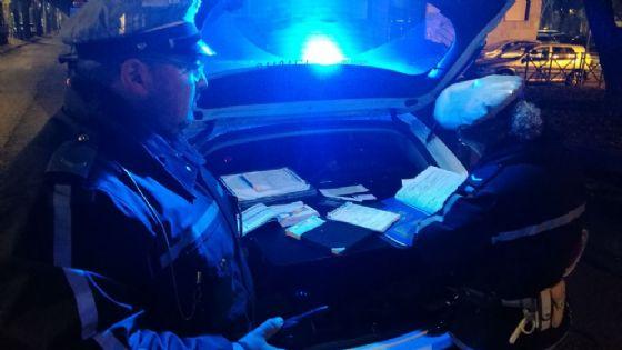 Controlli della polizia municipale (© Diario di Torino)