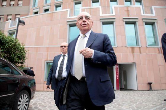 Adriano Galliani, ex amministratore delegato del Milan ed attuale presidente di Mediaset Premium