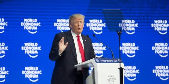 Donald Trump al World Economic Forum di Davos