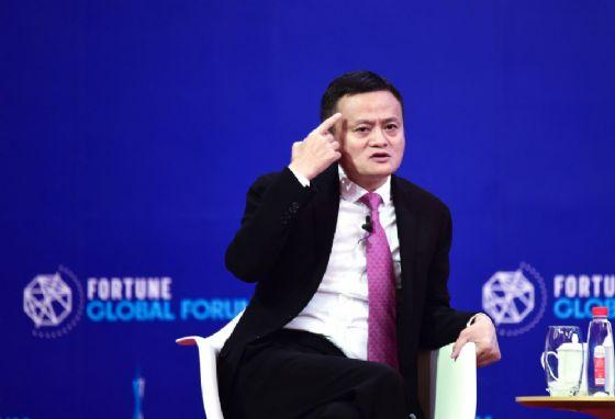 Il fondatore di Ali Baba Jack Ma