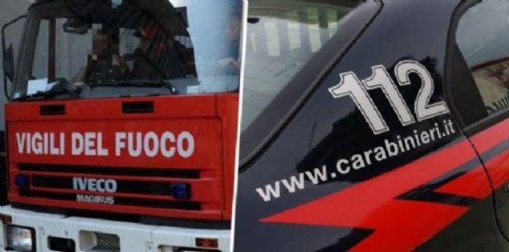 Sono impegnati nelle ricerche uomini dei carabinieri e dei vigili del fuoco