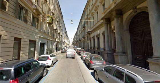 Via Bogino chiusa al traffico domenica 4 febbario (© Google Street View)