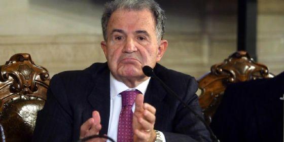 L'ex premier Romano Prodi.