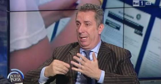 Il candidato di Forza Italia, Fabio Franceschi, azionista di minoranza della società editoriale del Fatto Quotidiano
