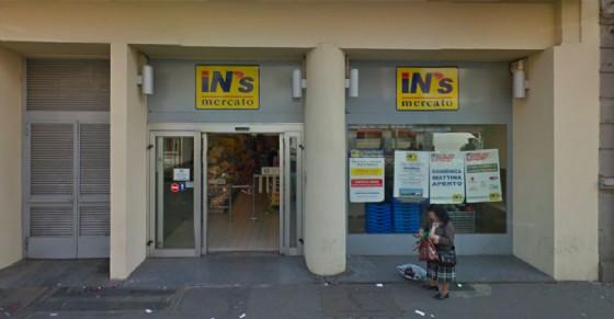 Il supermercato In's di corso Giulio Cesare