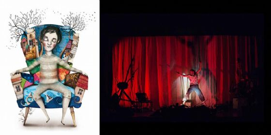 A Grado 'La mia grande avventura', spettacolo per bambini dai 5 anni in su (© Ente Regionale Teatrale del Friuli Venezia Giulia)