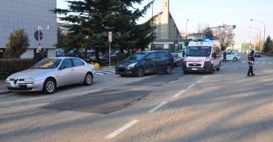 L'incidente in via Negarville