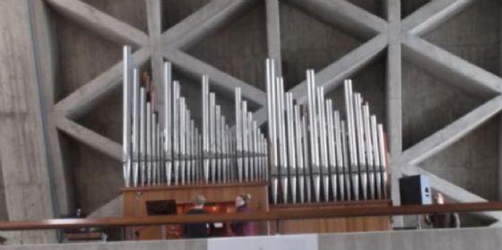Quasi ultimato il restauro dell'organo 'Mascioni' del Santuario Mariano di Monte Grisa