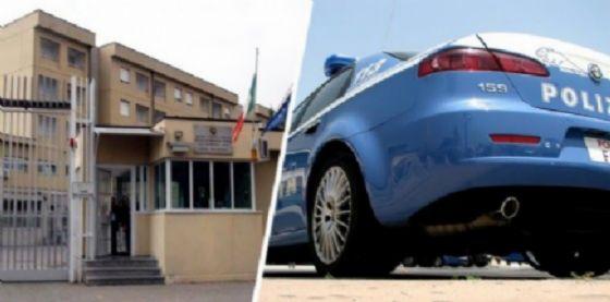 Carcere di Biella e volante della Polizia di Stato (© Diario di Biella)