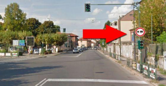 Il divieto tra corso Moncalieri e piazza Zara