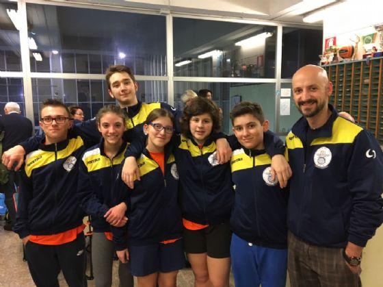 La squadra biellese impegnata domenica scorsa (© Diario di Biella)