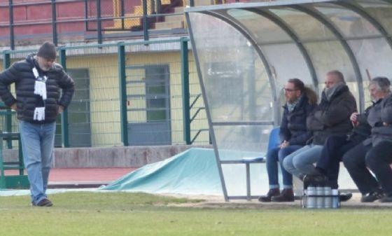 Mister Braghin allo stadio Lamarmora