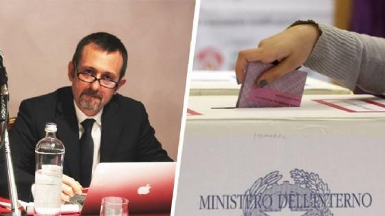 Il candidato alla Camera per Fratelli d'Italia, Andrea Delmastro