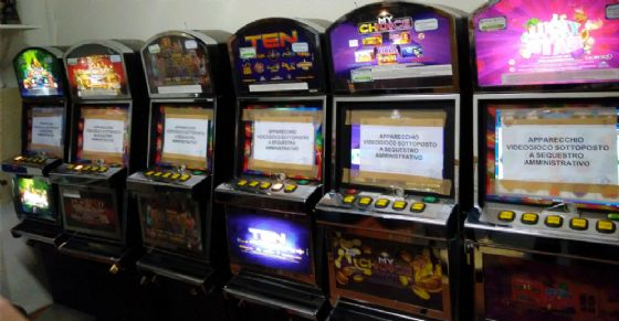 Le slot machine sequestrate