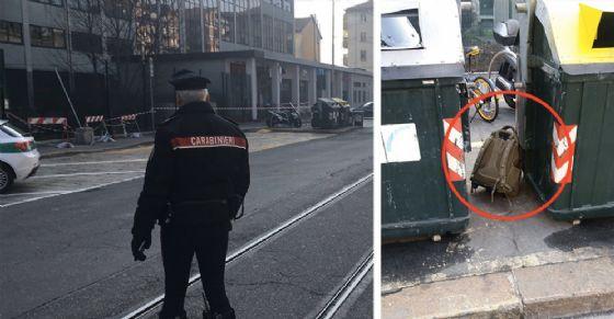 Allarme bomba in via Bologna (© Carabinieri di Torino)