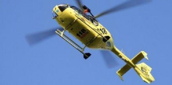 Elicottero del servizio del 118