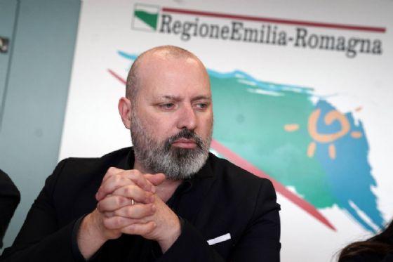 Il presidente della Regione, Stefano Bonaccini