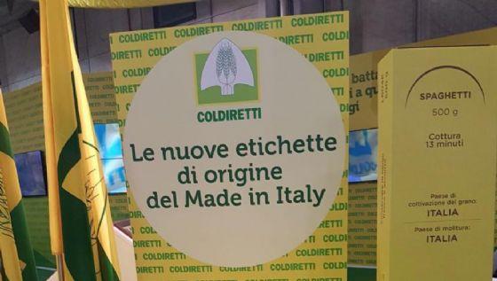 Arrivano nuove etichette per pasta e riso made in Italy