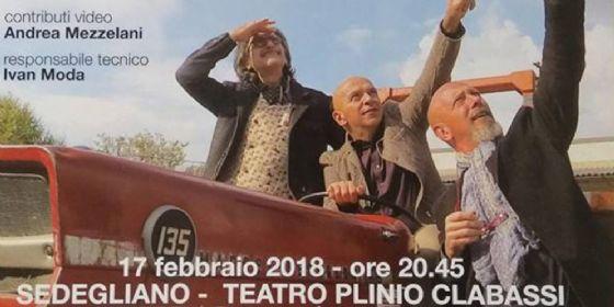 'Il Tacchino sul Tetto' debutta il nuovo spettacolo del trio de Maglio, Mezzelani e Somaglino (© Ert Fvg)