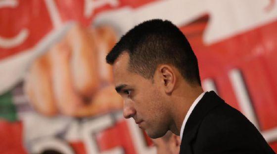 Il candidato premier M5S Luigi Di Maio.