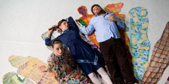 'La vita ferma': Lucia Calamaro sul palco del Teatro Palamostre (© Css)