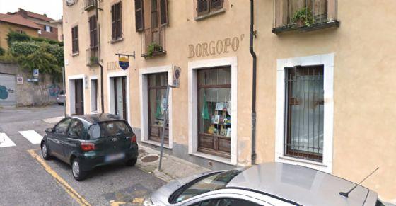 Il 24 febbraio chiude la libreria Borgopo' (© Google Street View)