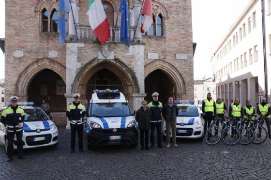 Potenziato il parco mezzi del Corpo di Polizia intercomunale di Pordenone e Roveredo in Piano