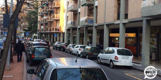 'Ostello' abusivo di nordafricani in viale Ungheria (© Diario di Udine)